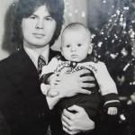 1978 – с сыном Иваном