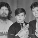 1991 – с Иваном, Астой, Налу и ШриН